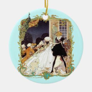 Costume Ball 18th Century Christmas Ornament