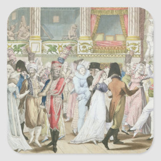 Costume Ball at the Opera, after 1800 Stickers