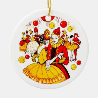 Costume Dance Ceramic Ornament
