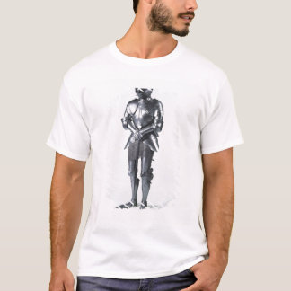 Costume d'armure avec les poulaines, c.1480 t-shirt