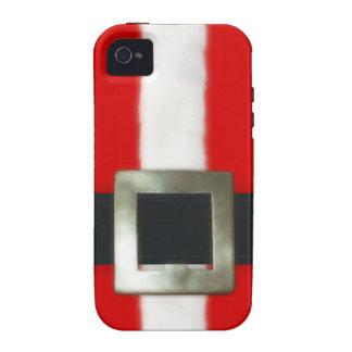 Costume de Père Noël de Noël iPhone 4/4S Case