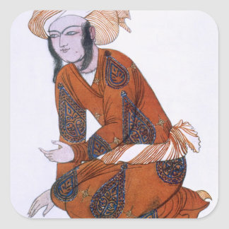 Costume design for L'Adoration de Tcherepnine, 192 Square Stickers