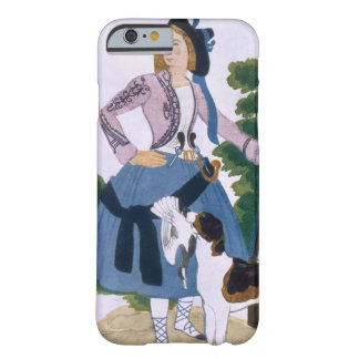 Costume design for The Huntress, 1922 (colour lith Barely There iPhone 6 Case