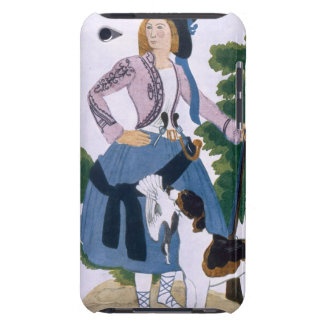 Costume design for The Huntress, 1922 (colour lith iPod Touch Case-Mate Case