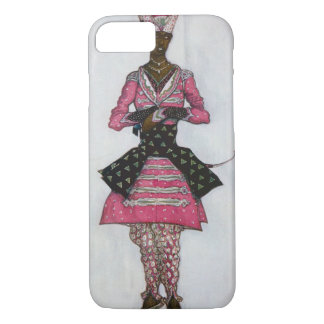 Costume design for The Indian Bridegroom, from Sle iPhone 7 Case