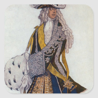 Costume design for The King, in the Garden, from S Sticker