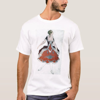 Costume design for The Princess Aurora, from Sleep T-Shirt