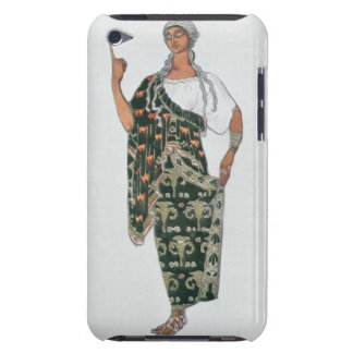 Costume design from Phedre, 1917 (colour litho) Case-Mate iPod Touch Case