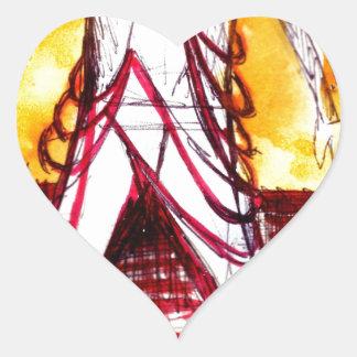 Costume Design Version 1 Heart Stickers