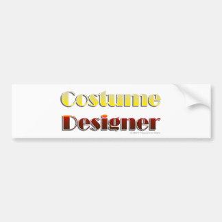Costume Designer (Text Only) Bumper Sticker