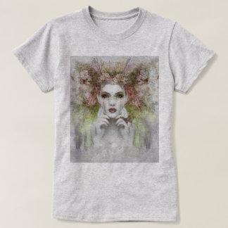 Costume Face Portrait Women's Basic T-Shirt