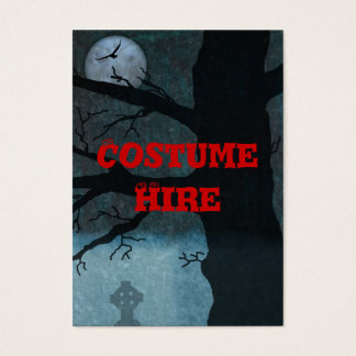Costume Hire Business Card