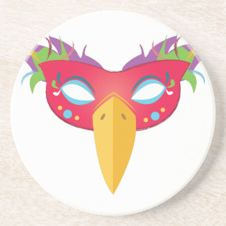 Costume Mask Beverage Coasters