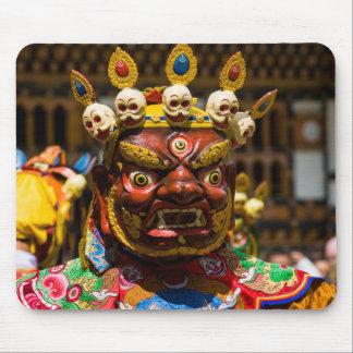 Costumed Festival Dancer Mouse Pad