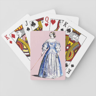 ~ COSTUMES ~ A Lady of Means ~ in 1636 ~ Playing Cards