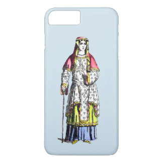 ~ COSTUMES ~ A Lady of Rank ~ 950 AD ~ iPhone 8 Plus/7 Plus Case