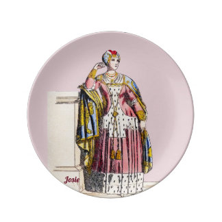 ~ COSTUMES ~A Lady of Rank~ Personalised JOSIE ~ Plate