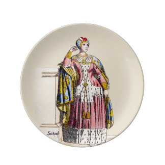 ~ COSTUMES ~A Lady of Rank~ Personalised SARAH ~ Plate