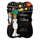 Costumes and Cocktails - Halloween Invite