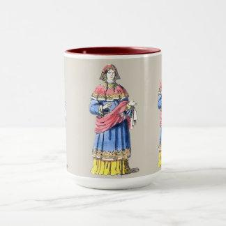 ~ COSTUMES ~ Anglo-Saxon Princess ~ bef 500 AD ~ Mug