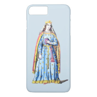 ~ COSTUMES ~Berengaria Queen of Richard 1st ~ 1195 iPhone 8 Plus/7 Plus Case