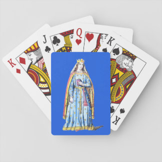 ~ COSTUMES ~Berengaria Queen of Richard 1st ~ 1195 Playing Cards