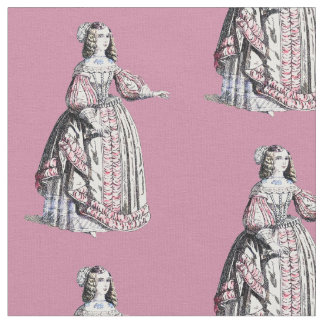~ COSTUMES ~ Catherine of Portugal ~ 1666 ~ Fabric