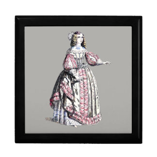 ~ COSTUMES ~ Catherine of Portugal ~ 1666 ~ Gift Box