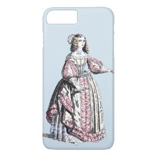 ~ COSTUMES ~ Catherine of Portugal ~ 1666 ~ iPhone 8 Plus/7 Plus Case