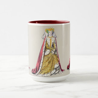 ~ COSTUMES ~Catherine of Valois~ Henry 5th ~ 1420~ Mug