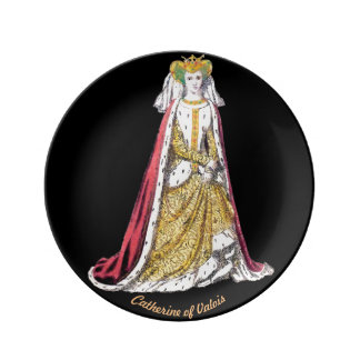 ~ COSTUMES ~Catherine of Valois~ Henry 5th ~ 1420~ Plate