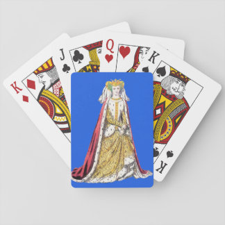 ~ COSTUMES ~Catherine of Valois~ Henry 5th ~ 1420~ Playing Cards