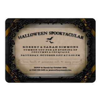 Costumes & Cocktails Halloween Spooktacular Invite