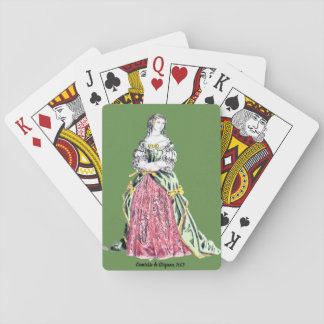 ~ COSTUMES ~ Comtesse de Grignan ~ 1663 ~ Playing Cards