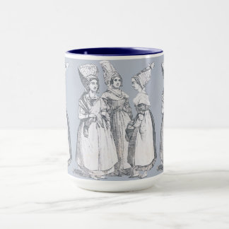 ~ COSTUMES ~ French Peasants ~ Marseilles ~ 1850s Mug
