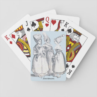 ~ COSTUMES ~ French Peasants ~ Marseilles ~ 1850s Playing Cards