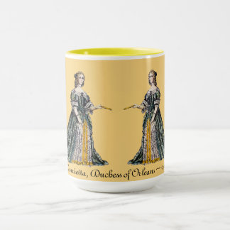 ~ COSTUMES ~ Henrietta, Duchess of Orleans ~ 1669 Mug