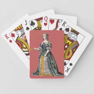 ~ COSTUMES ~ Henrietta, Duchess of Orleans ~ 1669 Playing Cards