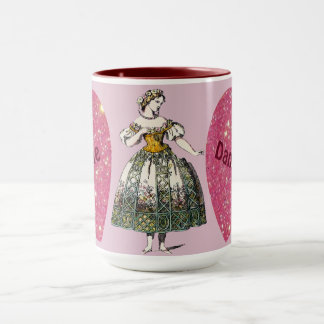 Costumes ~ Personalised DANIELLE ~ Valentine's Day Mug
