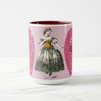 Costumes ~ Personalised ELLEN ~ Valentine's Day Mug