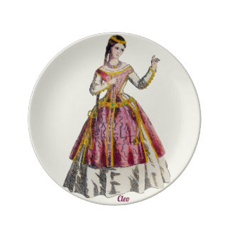 COSTUMES ~Spanish Lady of Rank~Personalised CLEO ~ Plate