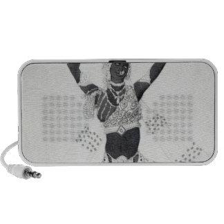 """Costumez la conception pour """"Le Dieu Bleu"""", 1912 Haut-parleurs iPod"""