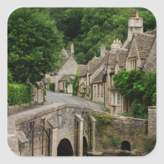 Costwolds town Castle Combe sticker
