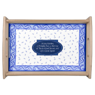 """""""Cosy Kitchen"""", Small Serving Tray"""