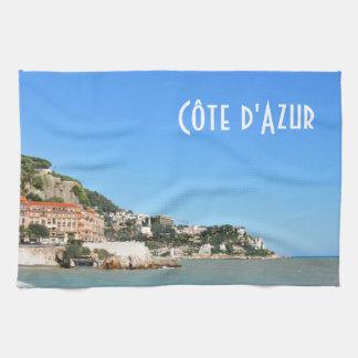 Côte d'Azur in Nice, France Hand Towel