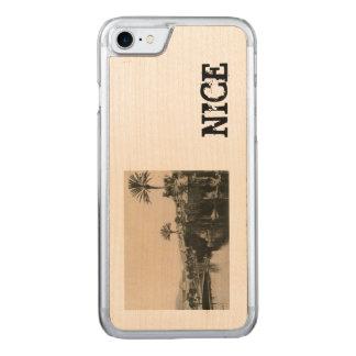 Cote D'Azur Nice  La Casino 1910 Carved iPhone 8/7 Case