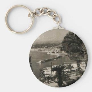 COTE D'AZUR - Nice 'Promenade des Anglais' 1950 Keychain
