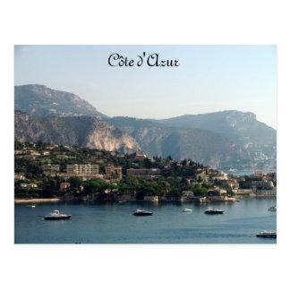 Côte d'Azur Postcard