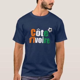 Côte d'Ivoire logo football fans soccer ball gifts T-Shirt