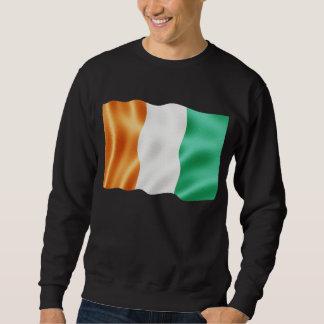 Cote d'Ivoire Waving Sweatshirt